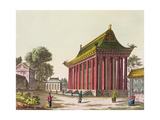 The 'European Palace' at Yuen-Ming-Yuan  Illustration from 'Le Costume Ancien Et Moderne' by…