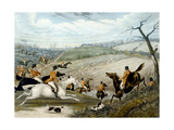 The Grand Leicestershire Fox Hunt  Plate 1  1839  Engraved by Charles Hunt (1829-1900)  1839