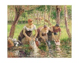 The Washerwomen  Eragny  1895