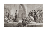 Thomas Cranmer (1489-1556) at the Traitor's Gate  from 'Illustrations of English and Scottish…
