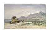 The Diligence from Grenoble to Sassenage  7th October 1875