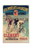 Poster Advertising the Cycles 'Clement'  1891