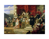 The Fall of Edward Hyde (1609-74)  1st Earl of Clarendon  1861
