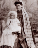 Nanny with a Baby  C1890