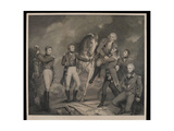 Death of the General Abercromby at the Battle of Alexandria  Egypt 1801  Engraved with Key by E…