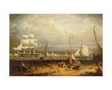 Liverpool Harbour  1840