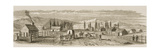 Salt Lake City in 1850  from 'American Pictures'  Published by the Religious Tract Society  1876