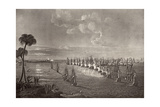 The Battle of the Nile in 1798  Illustration from 'The Life of Nelson' by Robert Southey…