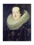 Portrait of Eleonora De Gonzaga Mantua (1598-1655) 1622-55