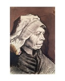 Portrait of a Woman (Head of a Peasant Woman with Bonnet) C1885