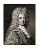 Daniel Defoe (1660-1731) from 'Gallery of Portraits'  Published in 1833