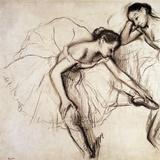 Two Dancers Resting Giclée par Edgar Degas
