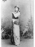 Meyriane Heglon (1867-1942) as Amneris in 'Aida' by Giuseppe Verdi (1813-1901)