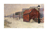 Snow  Butte Montmartre  1887