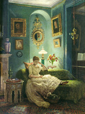 An Evening at Home  1888