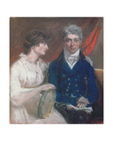 Portrait of Benjamin Thompson and His Wife  1800