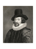 Francis Bacon  1st Baronet (1561-1626) from 'Gallery of Portraits'  Published in 1833