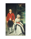 Mr John Julius Angerstein (1735-1823) and His Second Wife  Eliza Payne (1748-1800)  1792