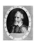 Sir Richard Grenville (C1541-91)  from 'Newe Welt Und Americanische Historien' by Johann Ludwig…