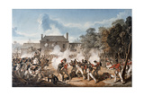 Defence of the Chateau De Hougoumont by the Flank Company  Coldstream Guards 1815  1815