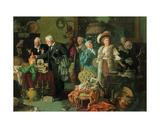 Connoisseurs in an Antique Shop