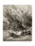 Battle of Lepanto in 1571  Illustration from 'Bibliotheque Des Croisades' by J-F Michaud  1877