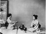 Tea Ceremony in Japan (Chya Ho Yu) C1867-90