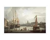 Dock Opening Ceremony  Bristol  1828