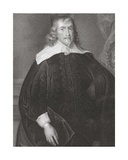 Portrait of Francis Russell (1593-1641) 4th Earl of Bedford  from 'Lodge's British Portraits'  1823