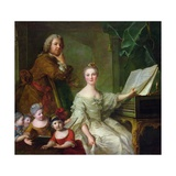 The Artist and His Family  1730-62