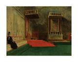 Interior of the Sistine Chapel  Rome