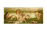The Bathers  1865-7