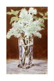 White Lilac in a Crystal Vase  1882