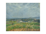 Landscape in Pontoise  1877