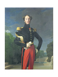 Ferdinand-Philippe (1810-42) Duke of Orleans in the Park at Saint-Cloud  1843