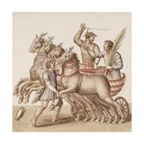 Ms Gen 1496 Plate Cxiii Gladiators  1674
