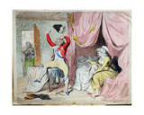 The Morning after Marriage  or a Scene on the Continent  Published by W  Holland in 1788