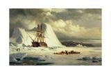 Icebound Ship  C1880