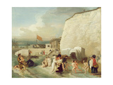 The Bathing Place at Ramsgate  C1788