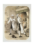 Envy in the Kitchen  from a Series of Prints Depicting the Seven Deadly Sins  C1850