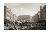 The Grande Place  Brussels  from 'select Views of Some of the Principal Cities of Europe …