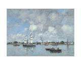 Bordeaux  Boats on the Garonne  1876