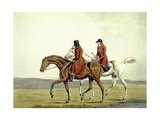 Going Home  Meltonians as They Were  from 'The Meltonians'  Engraved by George Hunt  1823