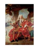 Portrait of Samuel Bernard  Comte De Coubert 1726