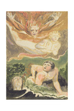 Four Naked Men Emerging from their Elements  Plate 4 from 'The First Book of Urizen'  1794