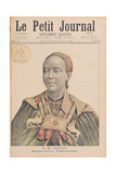 Portrait of the Taytu Betul (C1851-1918) Empress of Ethiopia  from 'Le Petit Journal'  29th…