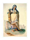 Sioux Mother with Baby in a Cradleboard