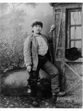 Portrait of Severine (1855-1929) at the Mines of Saint-Etienne  1st August 1890