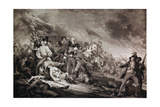 The Death of General Warren at the Battle of Bunker's Hill  17th June 1775  Published by Anthony…
