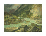 Rapids on the River Isar  1830